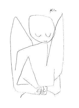 Paul Klee 'Forgetful Angel', 1939