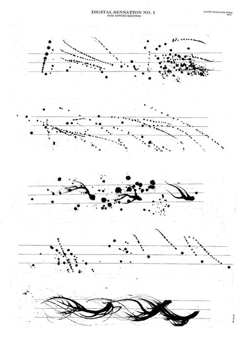 Scott Wollschleger 'Digital Sensation No.1 for Instrument(s)', 2007