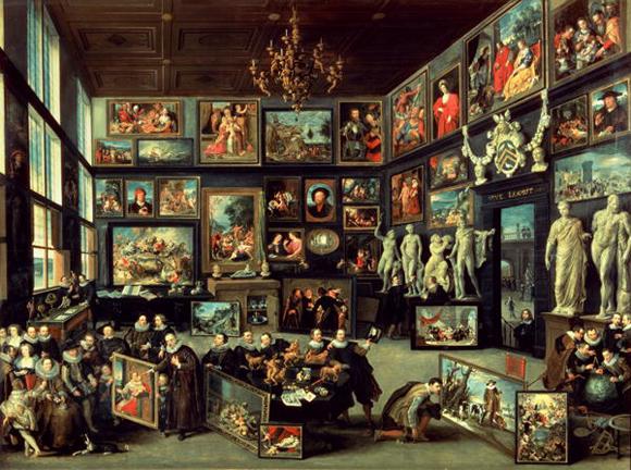 Willem van Haecht 'The Gallery of Cornelis van der Geest', 1628