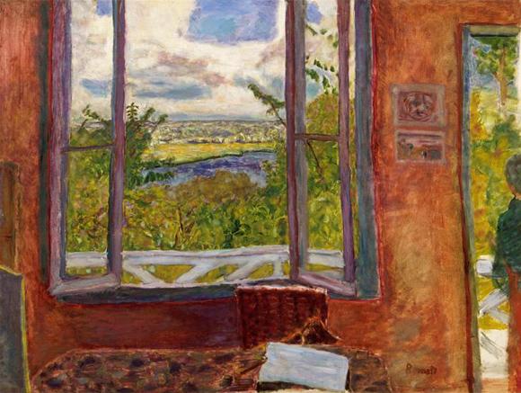 Pierre Bonnard 'Fenêtre ouverte sur la Seine', 1911