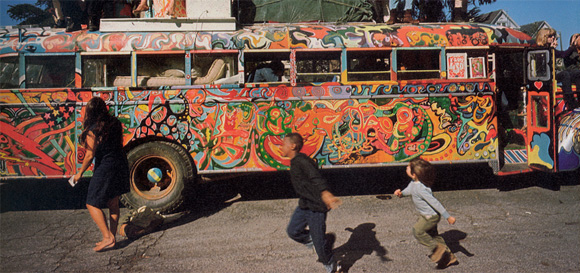 """Scene from """"Magic Trip: Ken Kesey's Search for a Kool Place"""""""