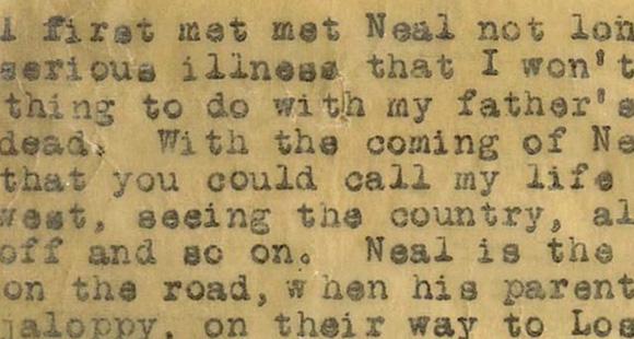 Jack Kerouac 'On The Road', 1957