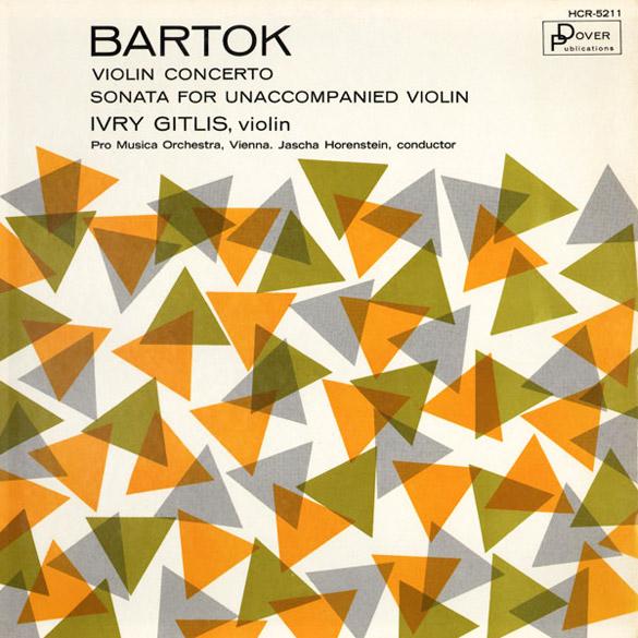 Sonata For Unaccompanied Violin (Dover, 1962)