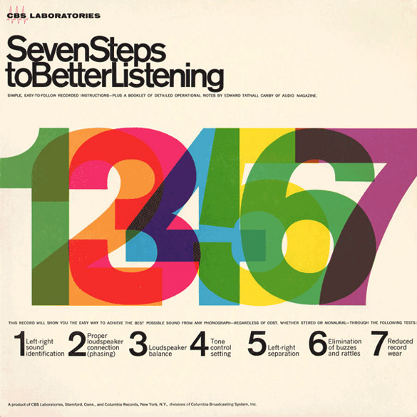 Seven Steps To Better Listening (CBS, 1964)