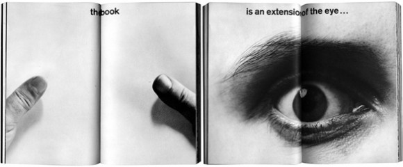 The book is an extension of eye...