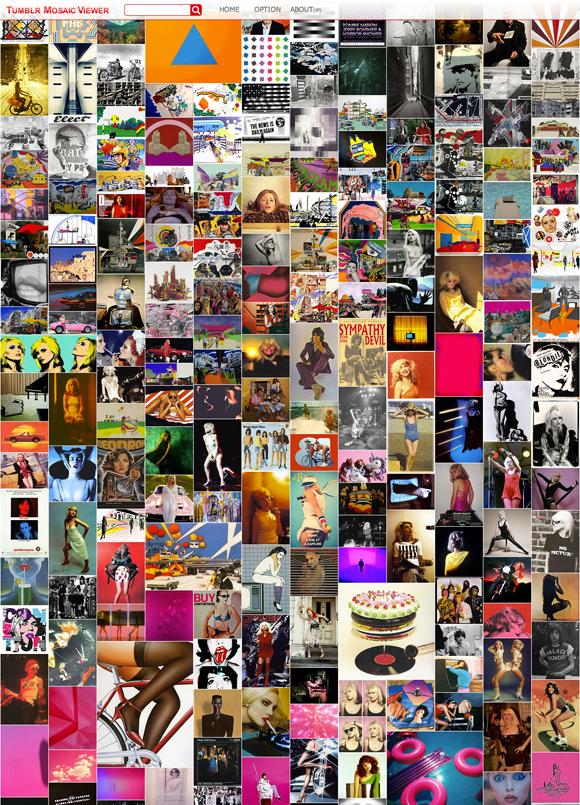 Tumblr Mosaic Viewer